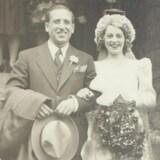 1943年,Salvatore Vistarchi 获释之后,与未婚妻结婚。(Joan Vistarchi 提供)