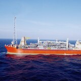 La plateforme pétrolière flottante SeaRose.