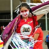 2021年10月4日,加拿大一些城市为失踪和被害的原住民妇女举行 Sisters in Spirit  守夜活动。