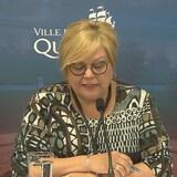 Suzanne Verreault, membre du comité exécutif responsable de l'environnement