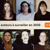 Montage photo des portraits des 10 jeunes auteurs à surveiller en 2020 selon Plus on est de fous, plus on lit