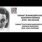 L'affiche de ''L'Amant'' adaptation théâtrale produite à Vancouver.