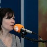 Dominique Fortier, en studio