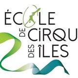 Logo de l'École de cirque des Îles-de-la-Madeleine