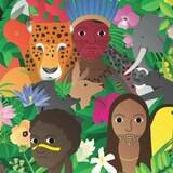 Illustration pour la Journée mondiale de la vie sauvage 2021.