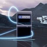 Capture d'écran d'une vidéo du site web E-Zinc.ca où l'on voit une image d'une pile en zinc.