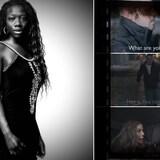 Montage photo : Valécia Pépin et quelques images tirées de son film.