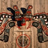 Art de la Nation Kwakiutl.