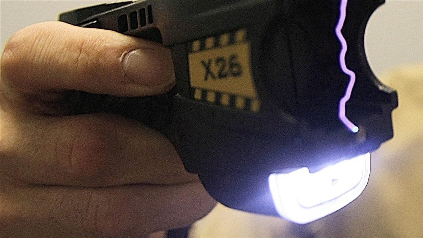 Un pistolet de type Taser
