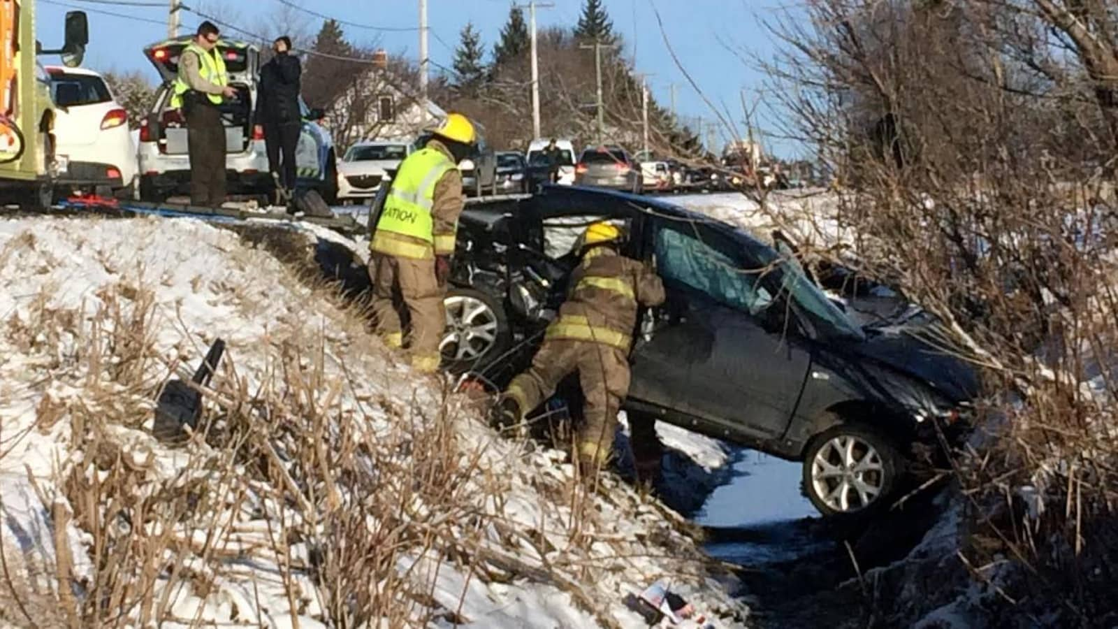 Accident mortel sur la route 122 le 18 mars 2016 à Saint-Edmond-de-Grantham