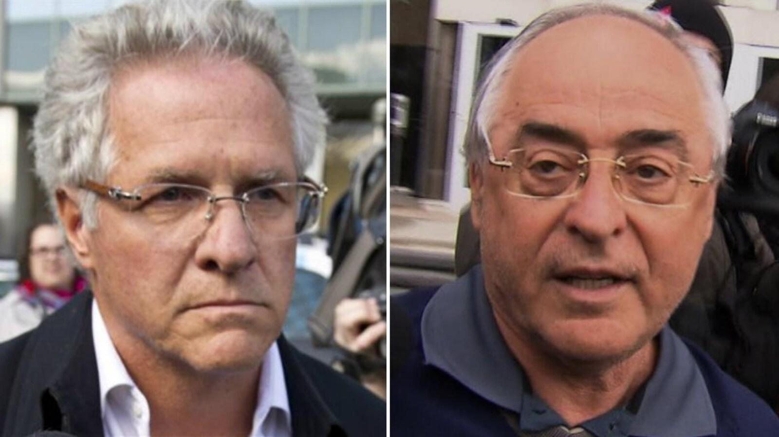 Tony Accurso (gauche) et Richard Marcotte (droite)