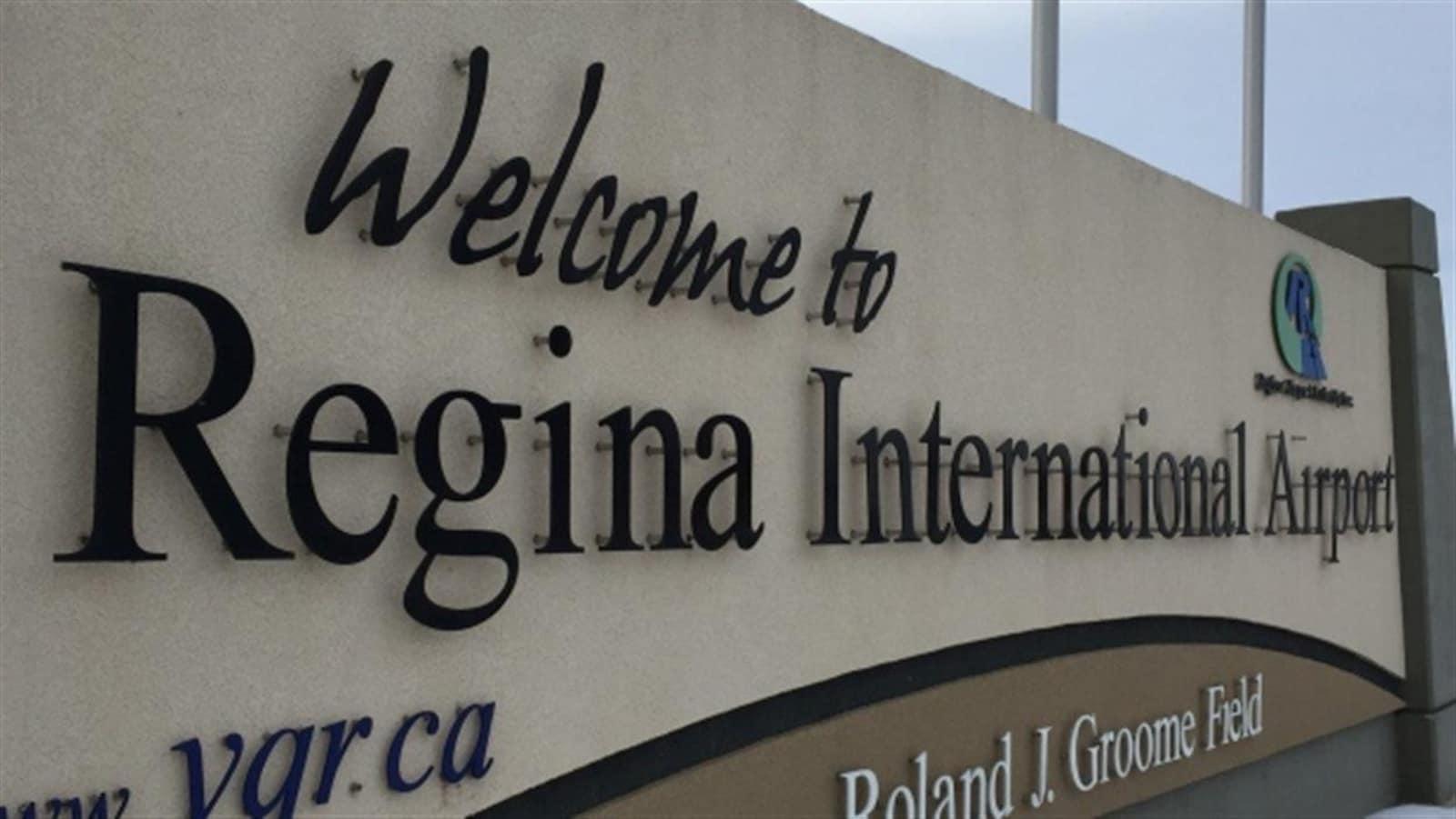 L'aéroport international de Regina.