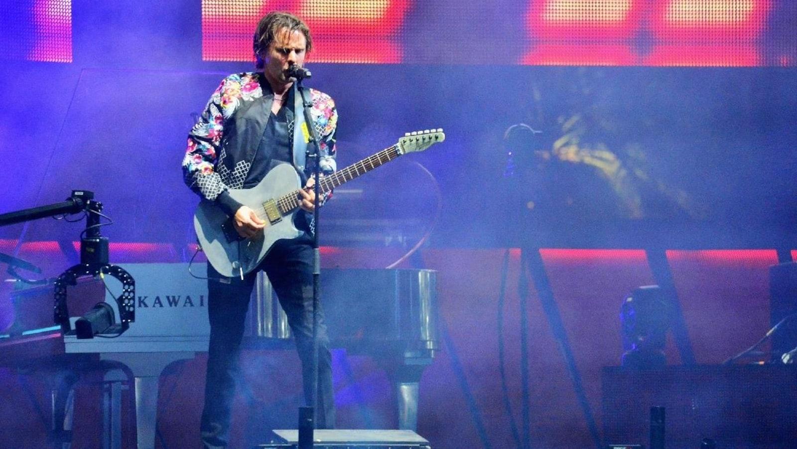 Matthew Bellamy du groupe Muse