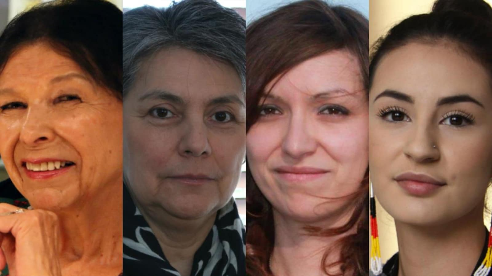 Alanis Obomsawin, Michèle Rouleau, Widia Larivière et Maïtée Labrecque-Saganash
