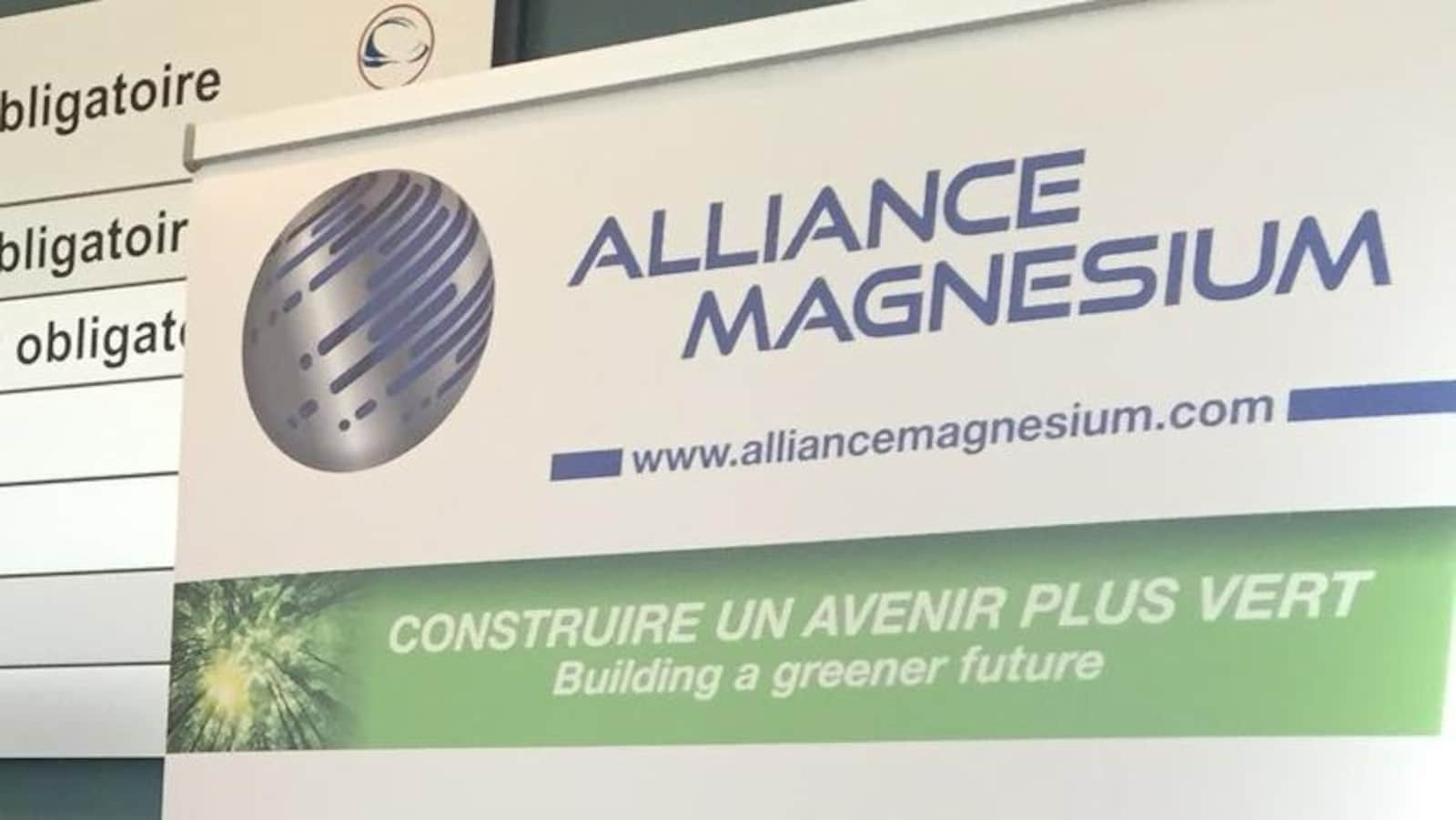 L'affiche d'Alliance Magnésium.