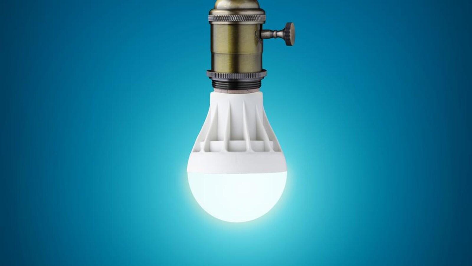 Une ampoule énergétique