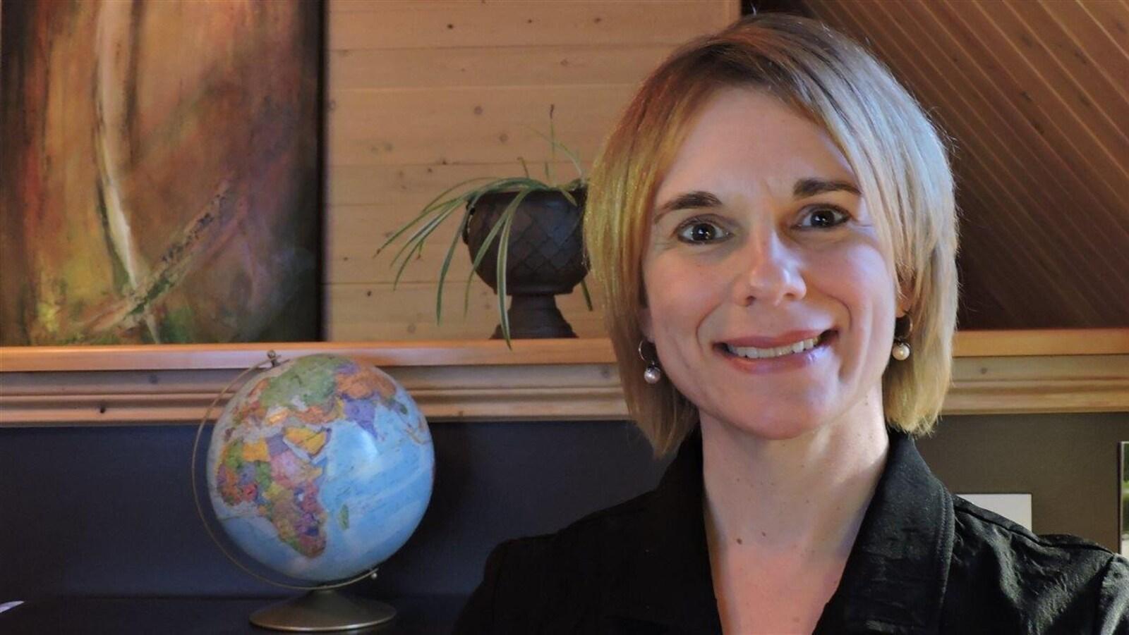Angèla Aucoin, professeure à la faculté des sciences de l'éducation à l'Université de Moncton.