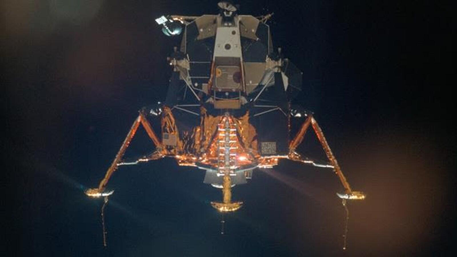 Le module Eagle d'Apollo 11.