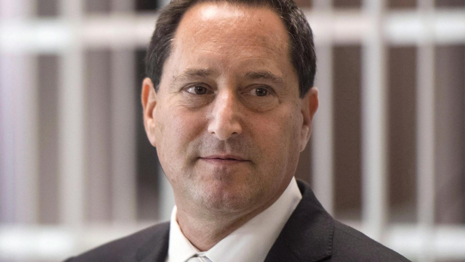Michael Applebaum, en septembre 2016, au palais de justice de Montréal