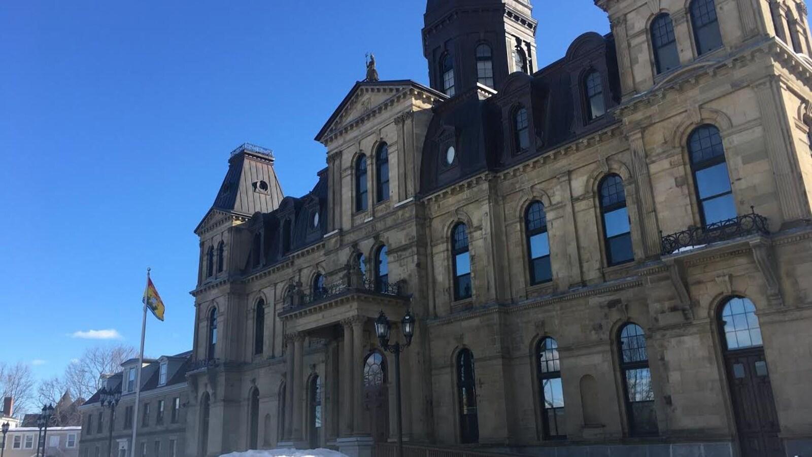Photo extérieure de l'Assemblée législative du N.-B.
