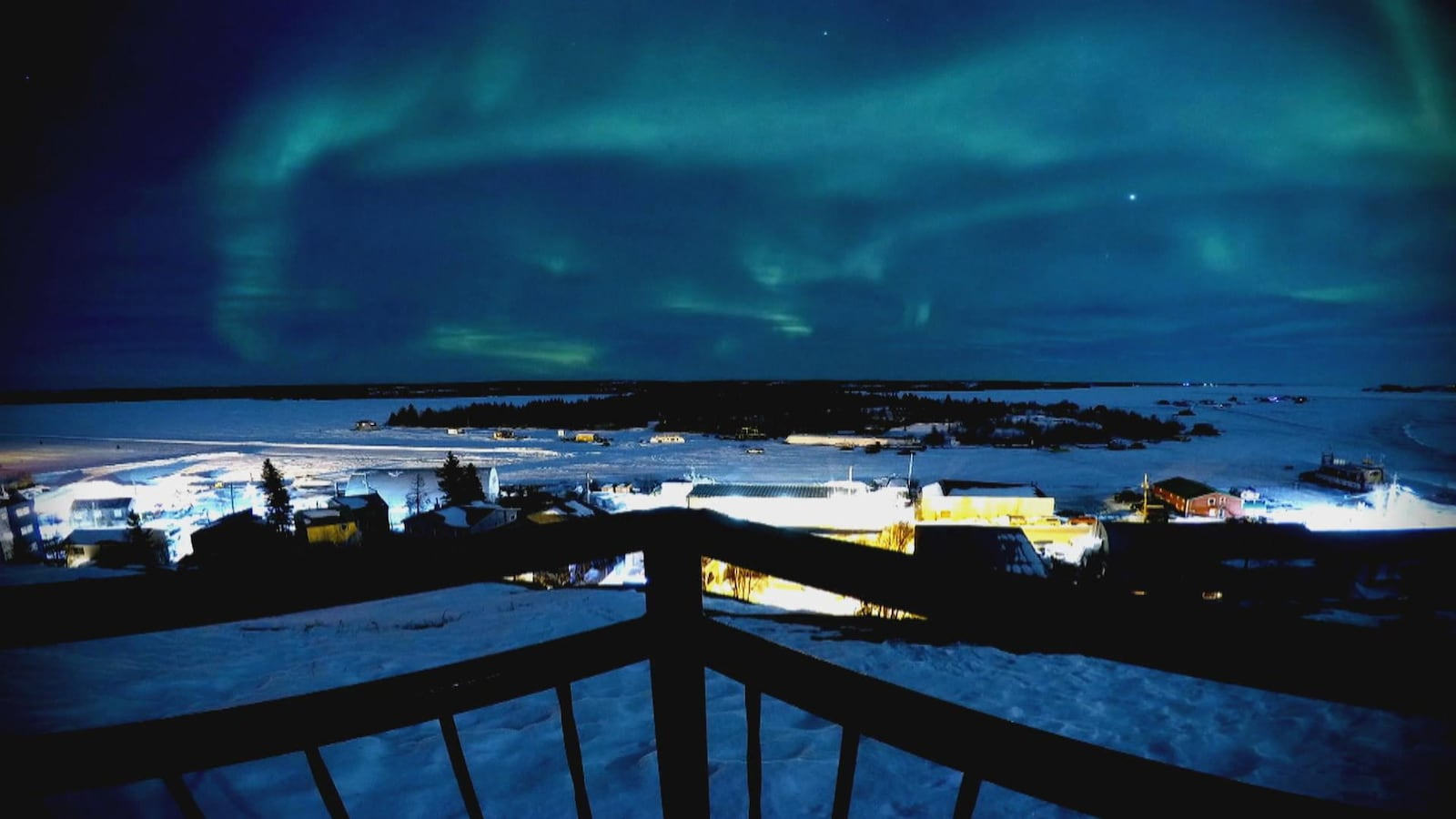 Des aurores boréales au-dessus de Yellowknife