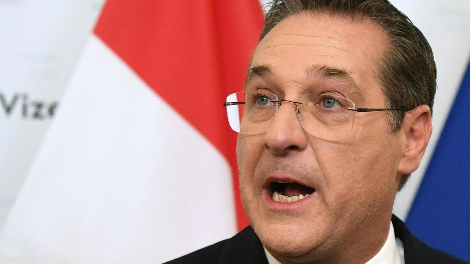Démission du chef de l'extrême droite autrichienne, piégé par une caméra cachée