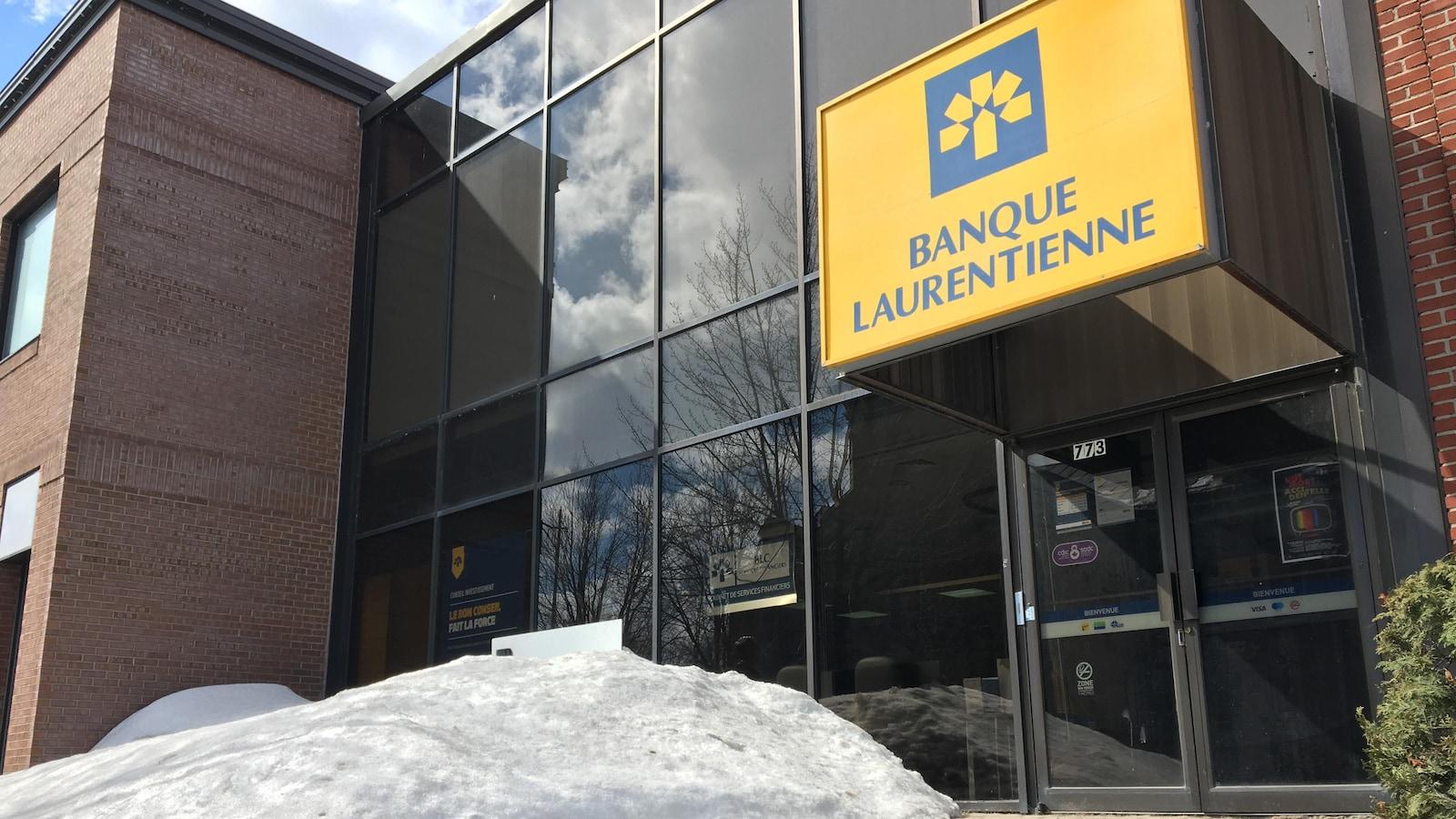 Une succursale de la Banque Laurentienne