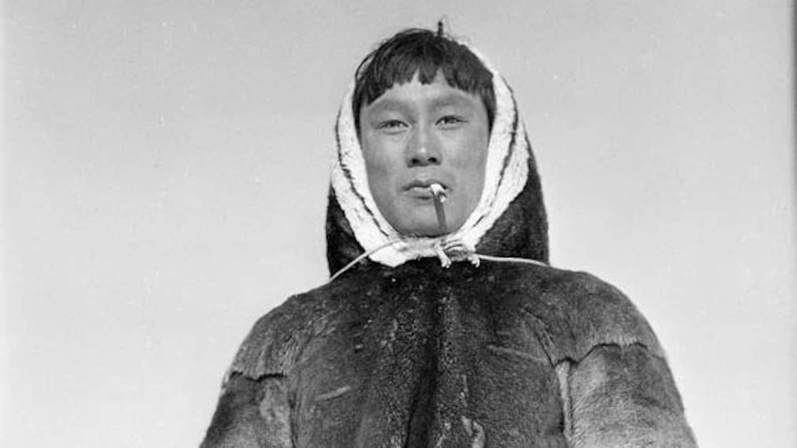 Barnabus Arnasungaaq de Baker Lake au Nunavut, en 1949