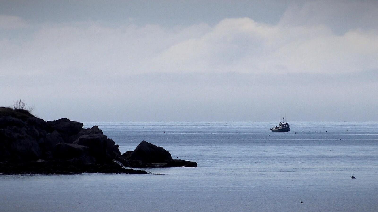 Pêche au homard à Port-Daniel