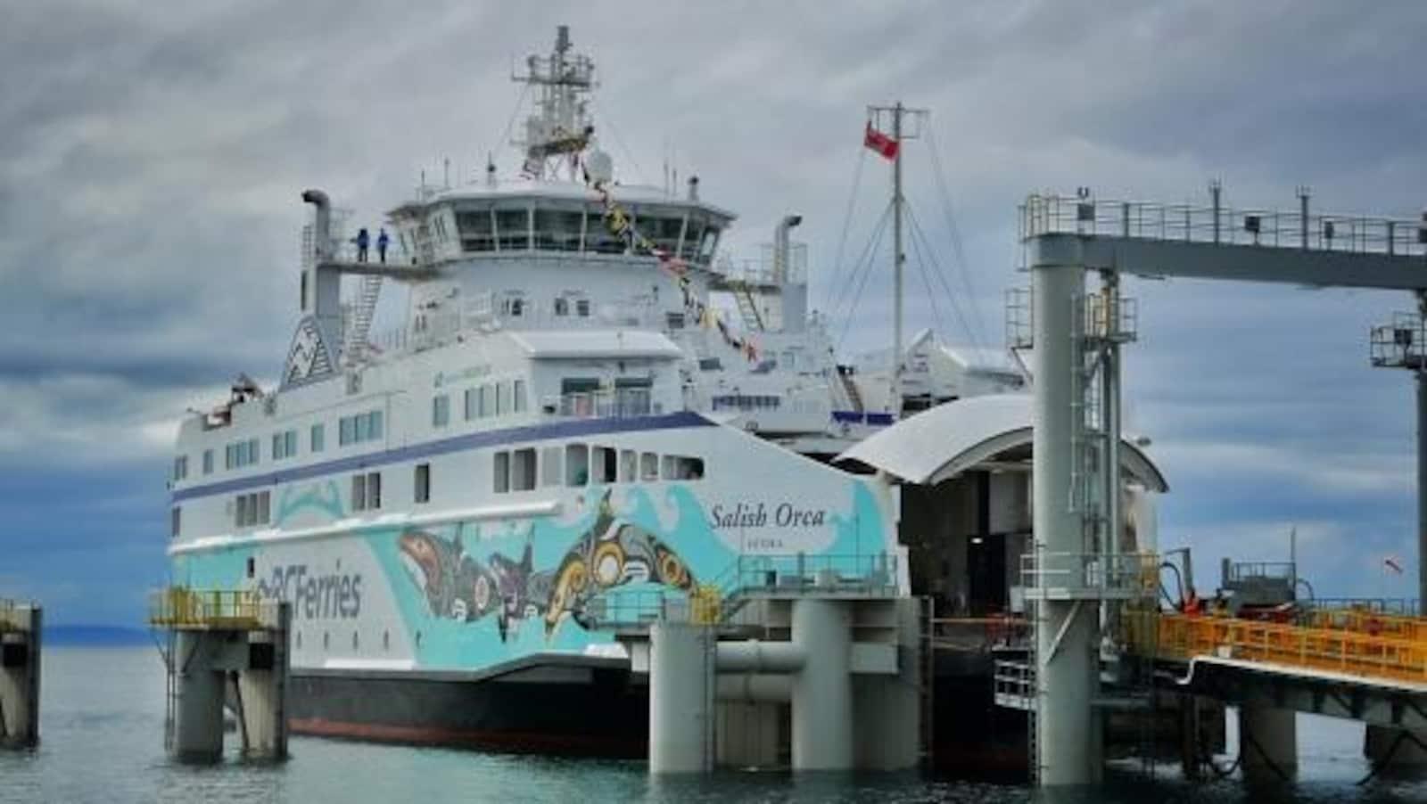 Le traversier Salish Orca de BC Ferries