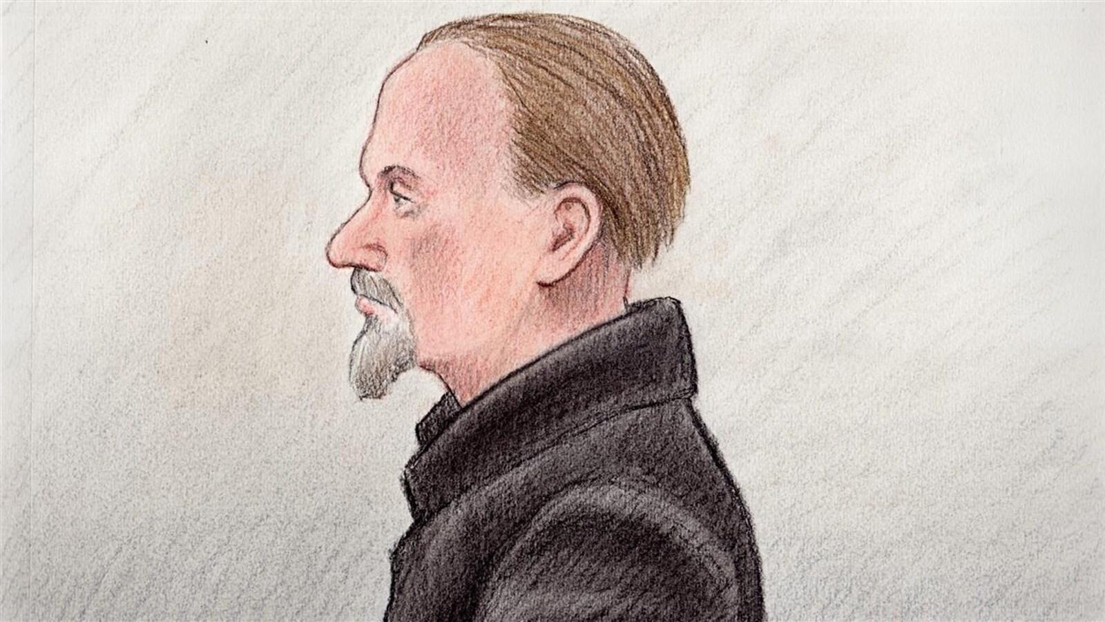 Blake Dooley qui a été accusé de meurtre au premier degré a de nombreux antécédents judiciaires, tant à Gatineau qu'à Ottawa. (Archives)