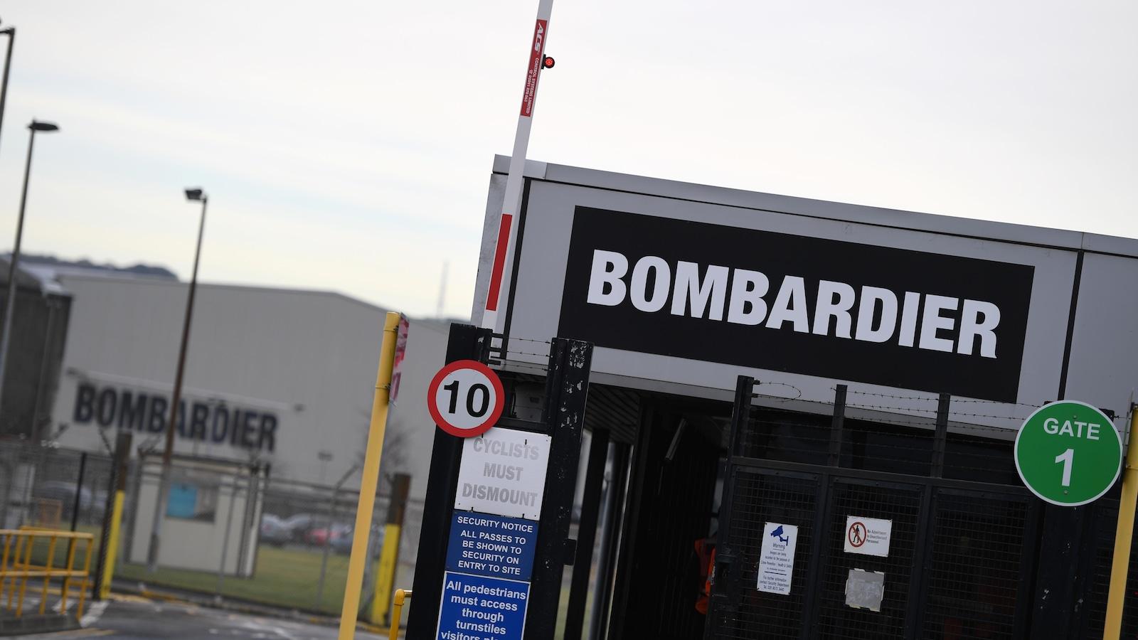 L'usine Bombardier à Belfast