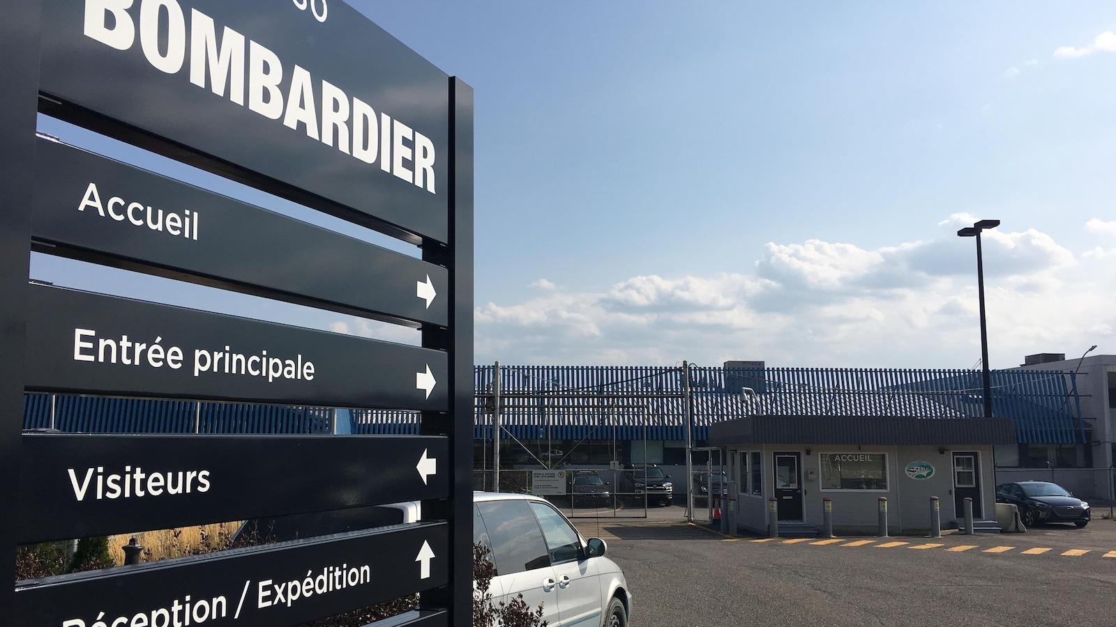L'usine Bombardier de La Pocatière