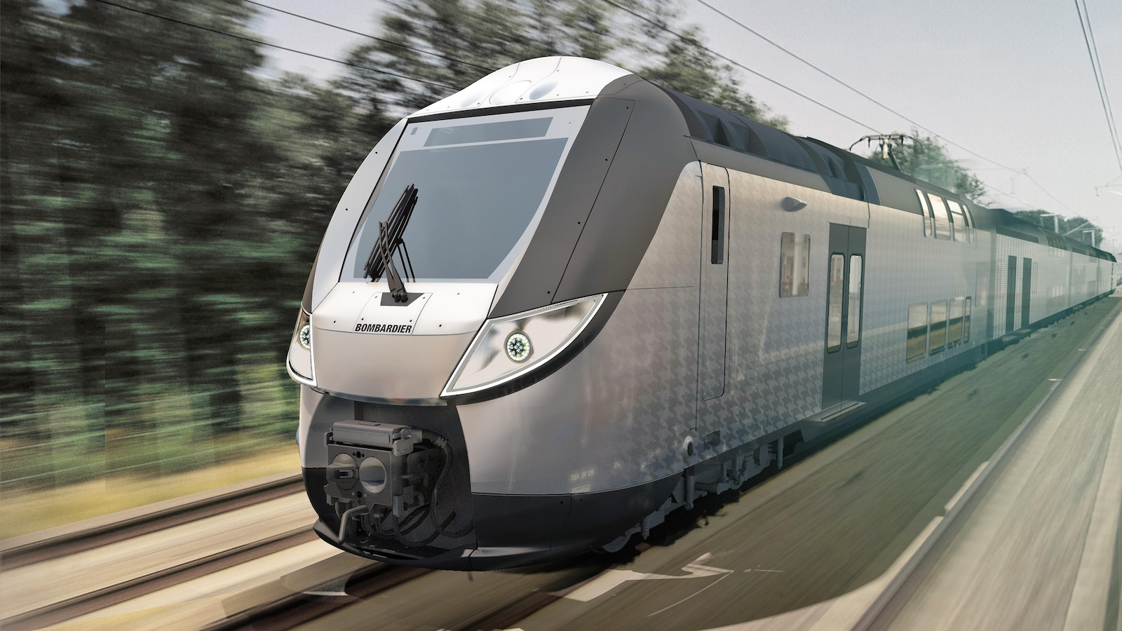Le train OMNEO de Bombardier