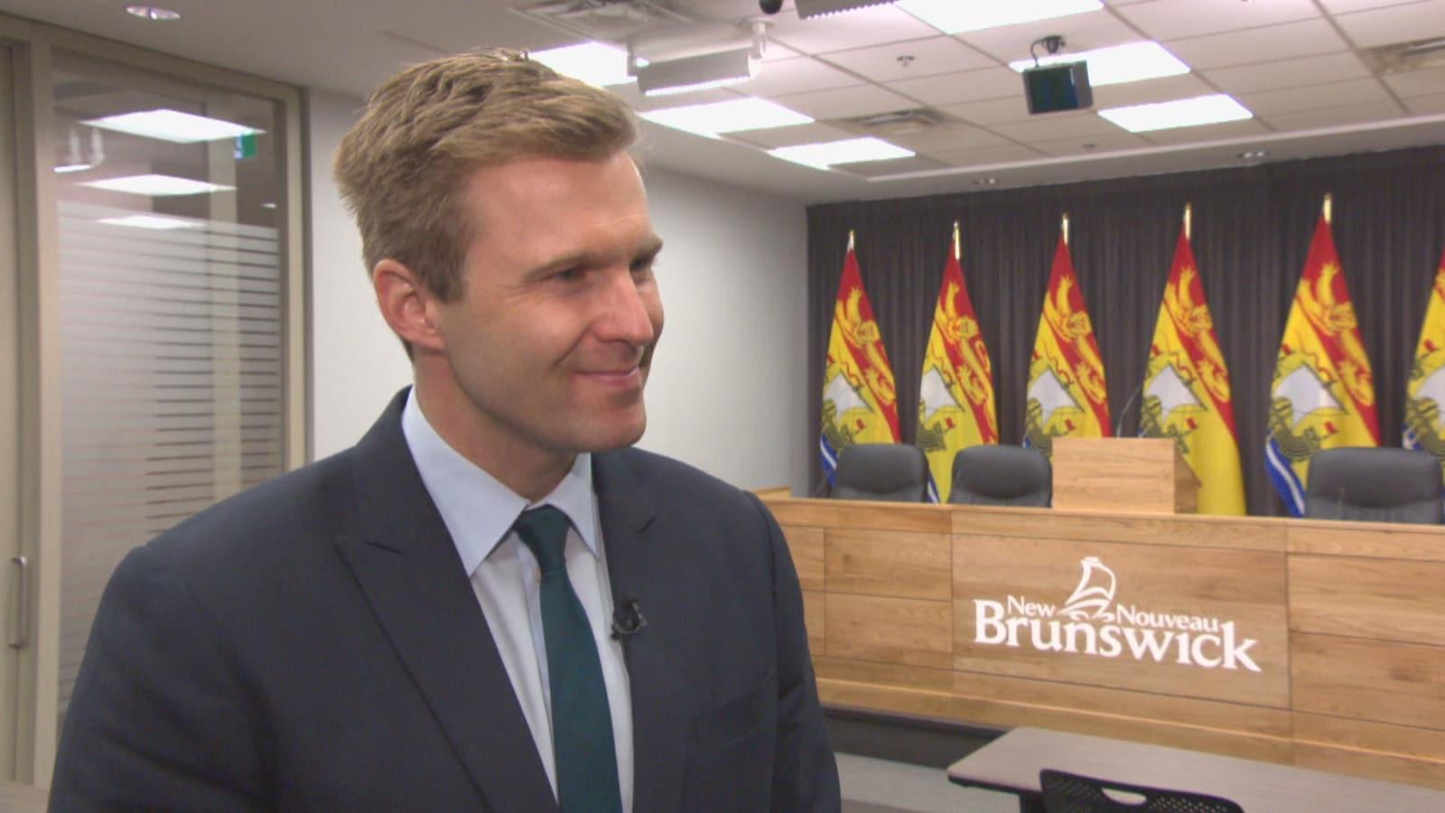 Brian Gallant, premier ministre et chef du Parti libéral du Nouveau-Brunswick.
