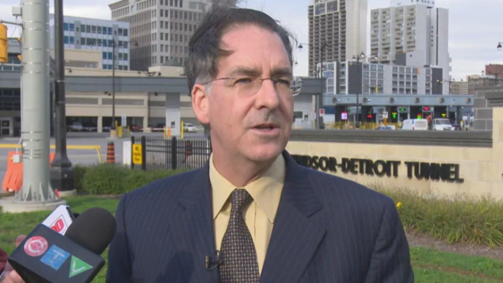 Brian Masse, député fédéral pour le NPD dans la circonscription de Windsor-Ouest.