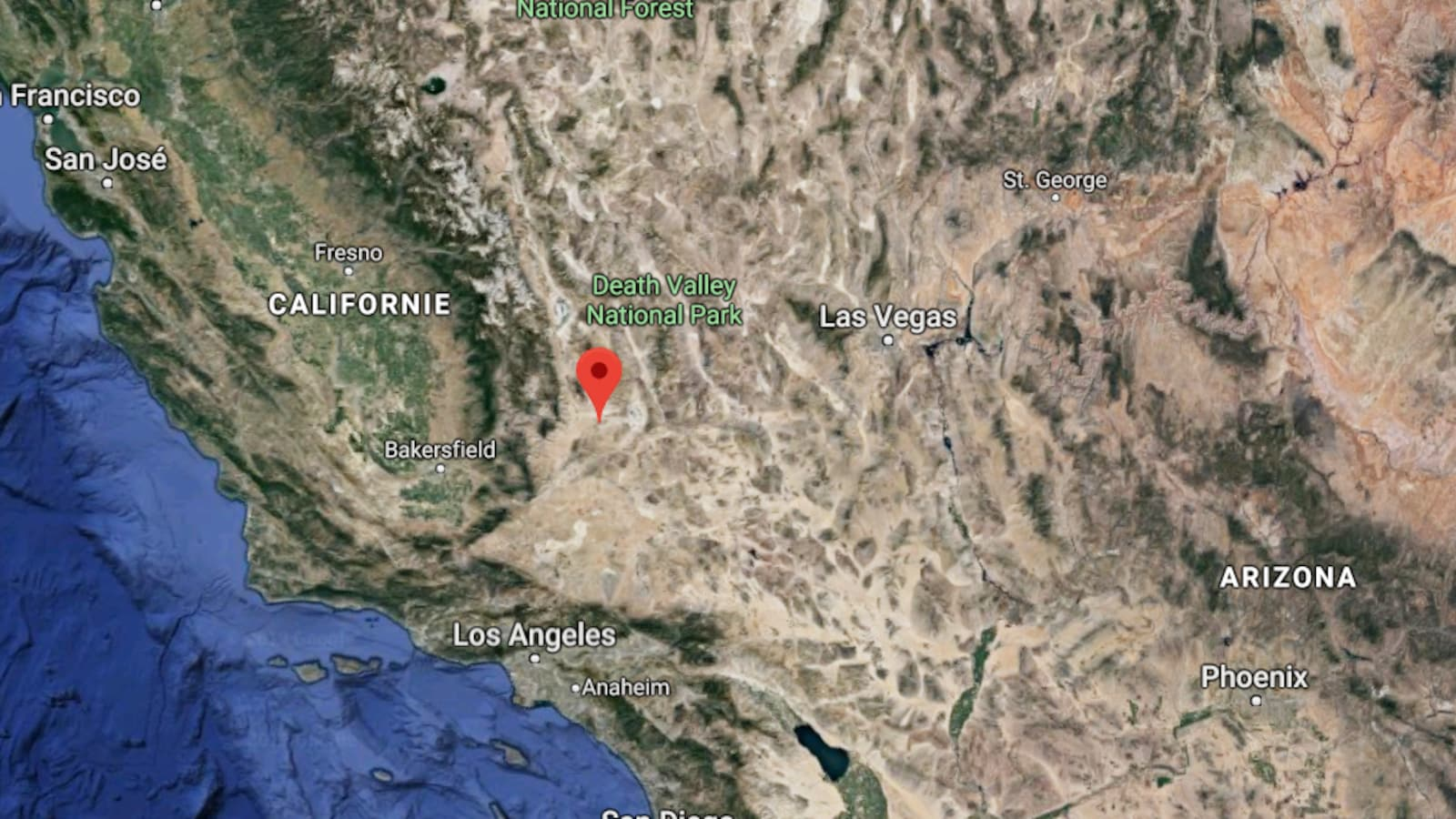 Un séisme de magnitude 6,4 ébranle la Californie