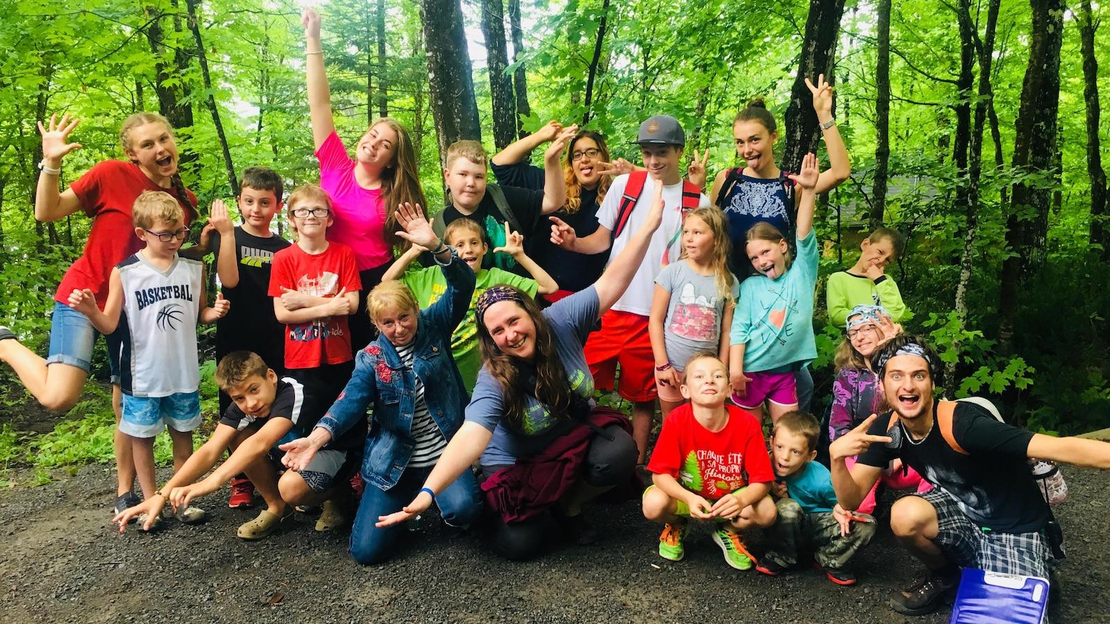 Le Camp Portneuf offre un programme d'une durée de deux semaines adapté aux jeunes vivant avec un TDAH.