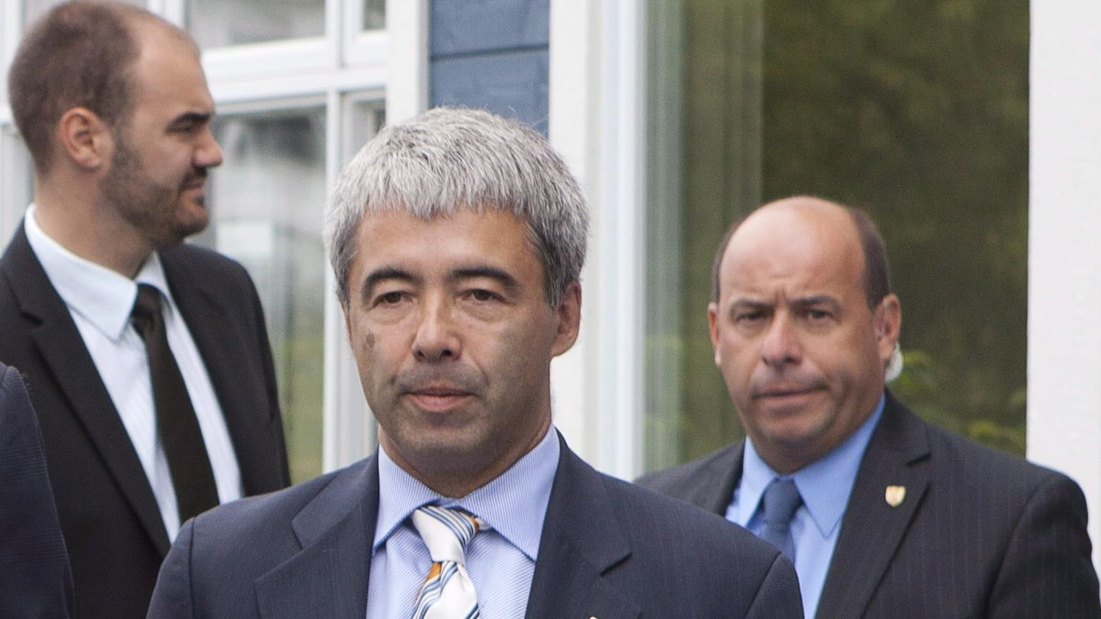 Stéphane Le Bouyonnec, président de la CAQ et candidat dans la circonscription de La Prairie.