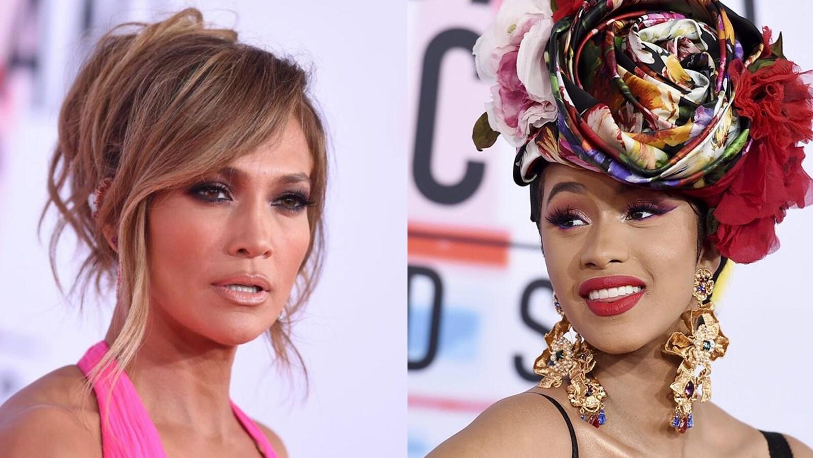 Portraits de Jennifer Lopez et Cardi B