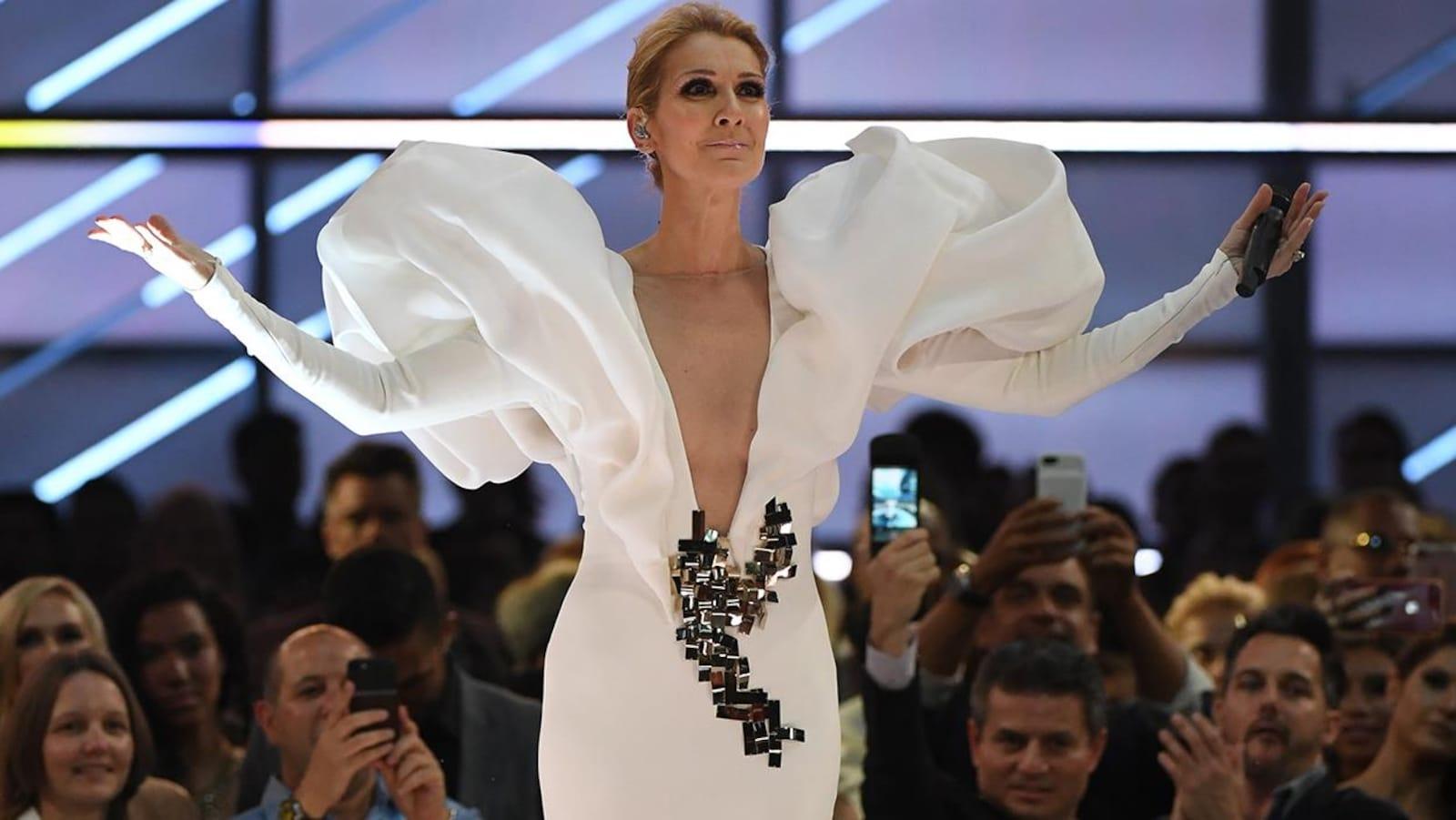 La chanteuse Céline Dion