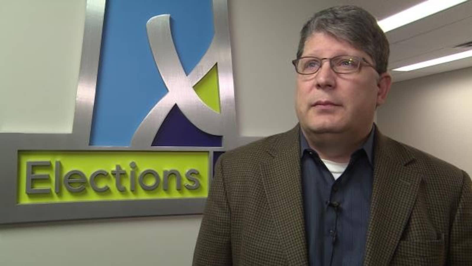 Le directeur général des élections à Élections Saskatchewan. Michael Boda