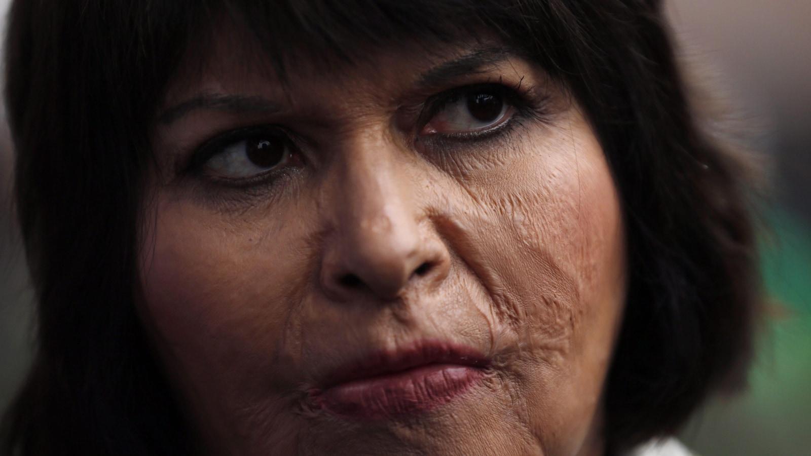 Carmen Quintana assiste en 2015 à un hommage pour le photographe Rodrigo Rojas à Santiago au Chili.