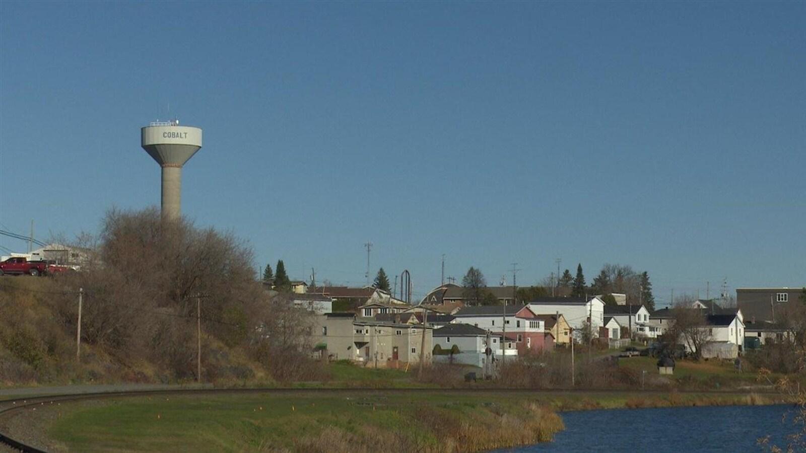La ville de Cobalt dans le Nord-Est de l'Ontario