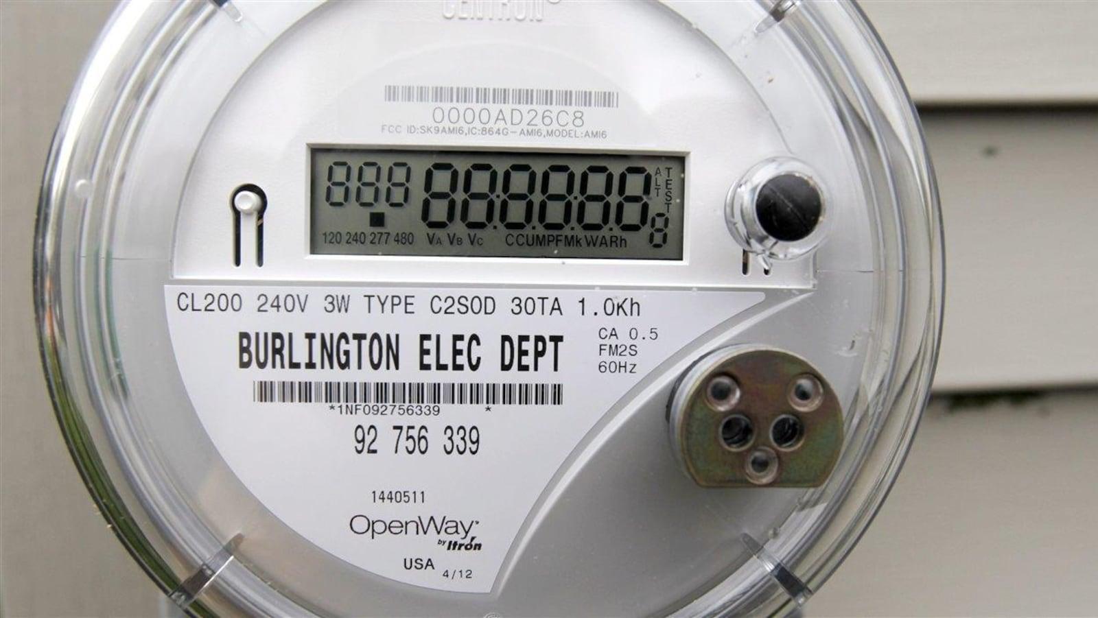Un compteur électrique intelligent (archives).