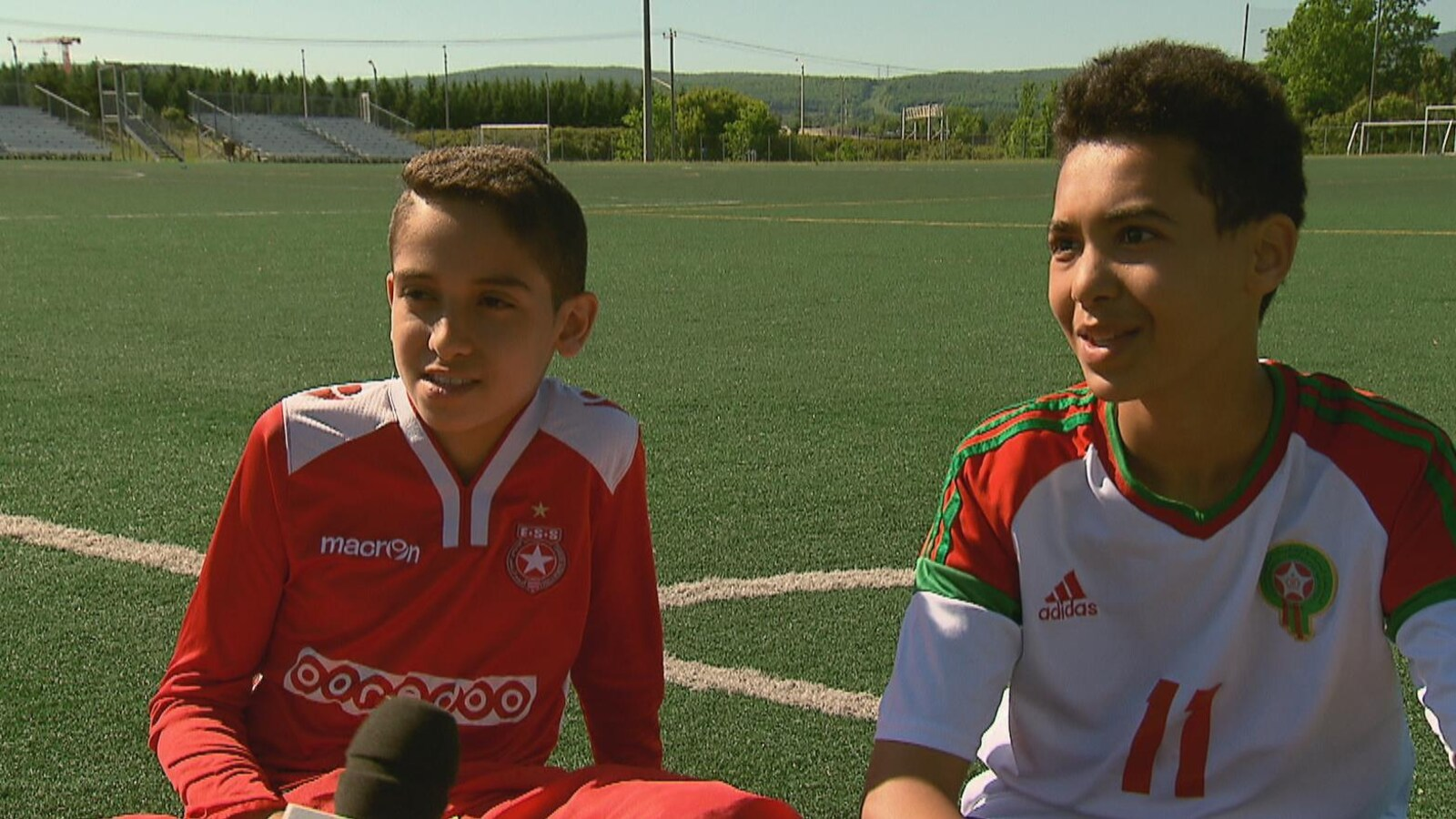 Yassine Zouari et Yassine Bouibes