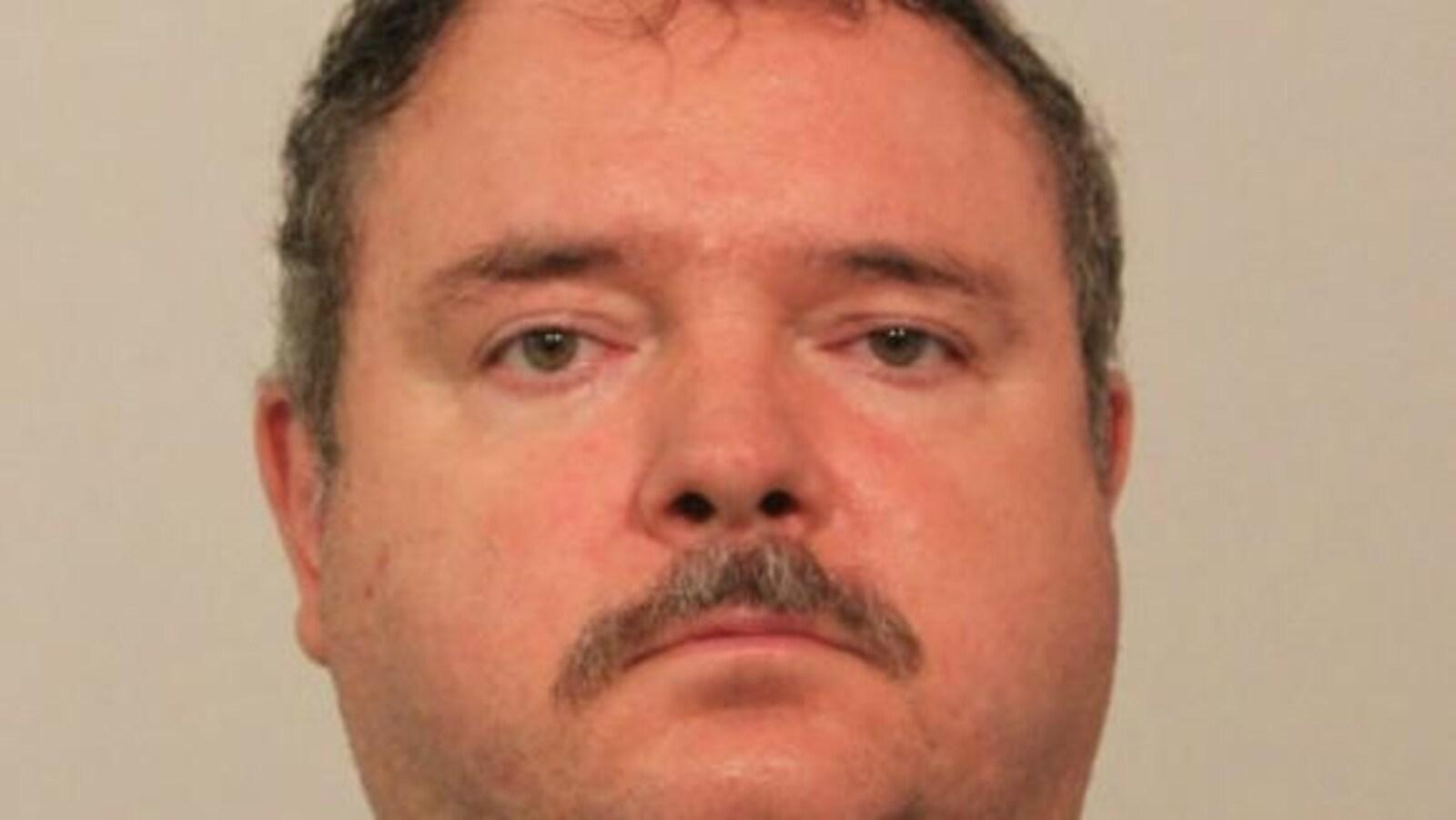 Une photo d'identité judiciaire montre le suspect Daniel Laframboise.