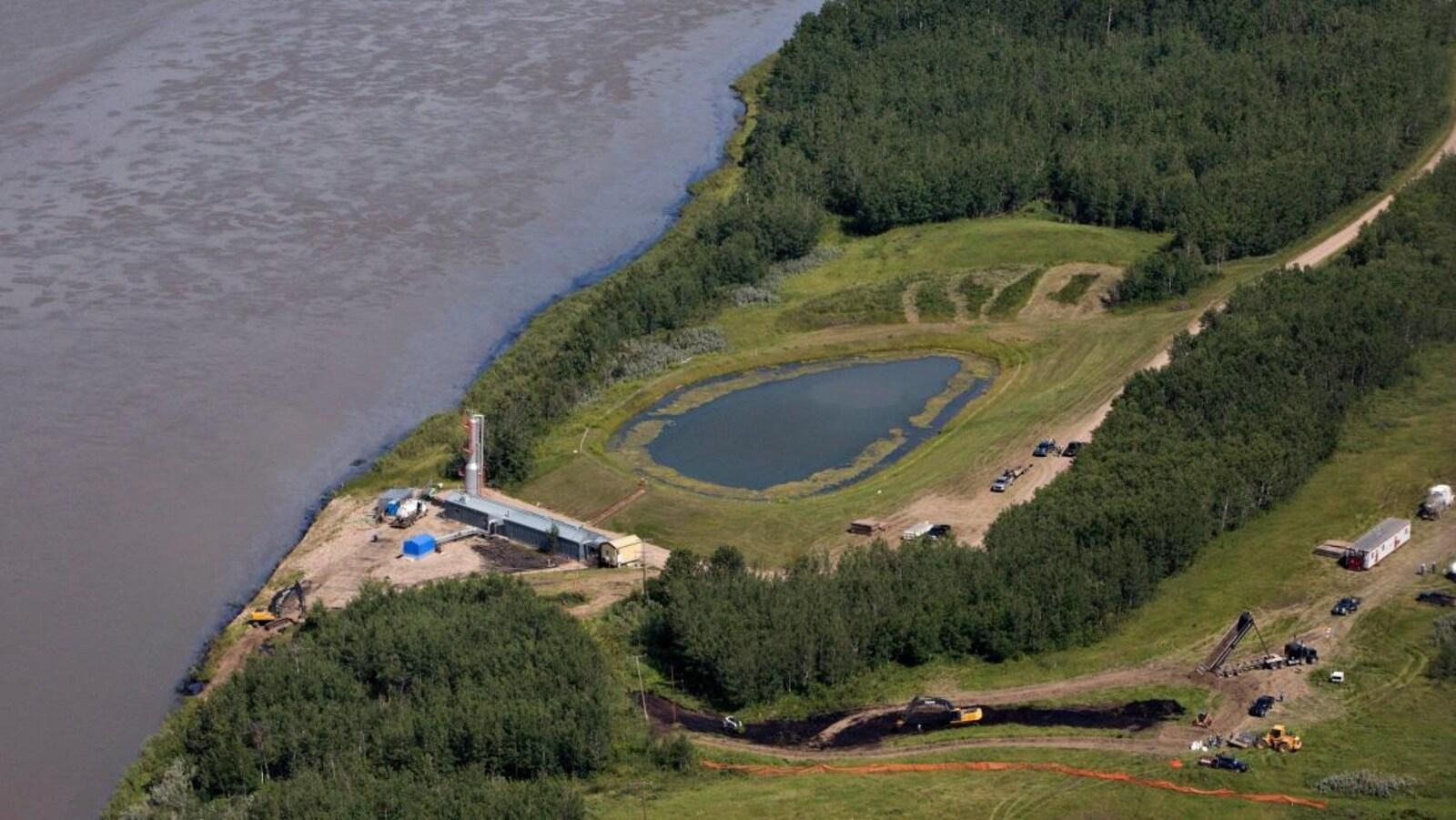 Rivière Saskatchewan Nord.