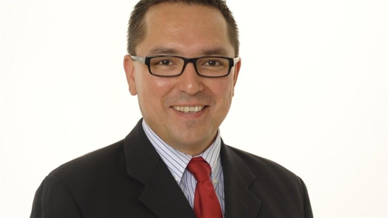 Don Rusnak, député de Rainy River, à Thunder Bay.