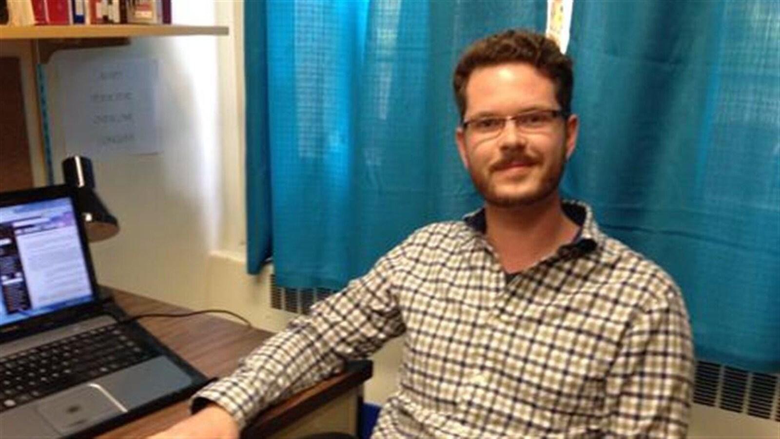 Dustin McNichol a déposé sa thèse en histoire en juin 2016.